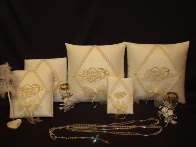Cojines para boda bordados liston imagui for Cojines con nombres bordados